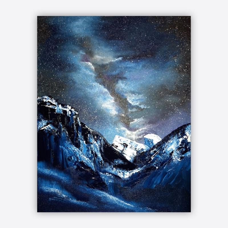 Yosemite Oil Painting